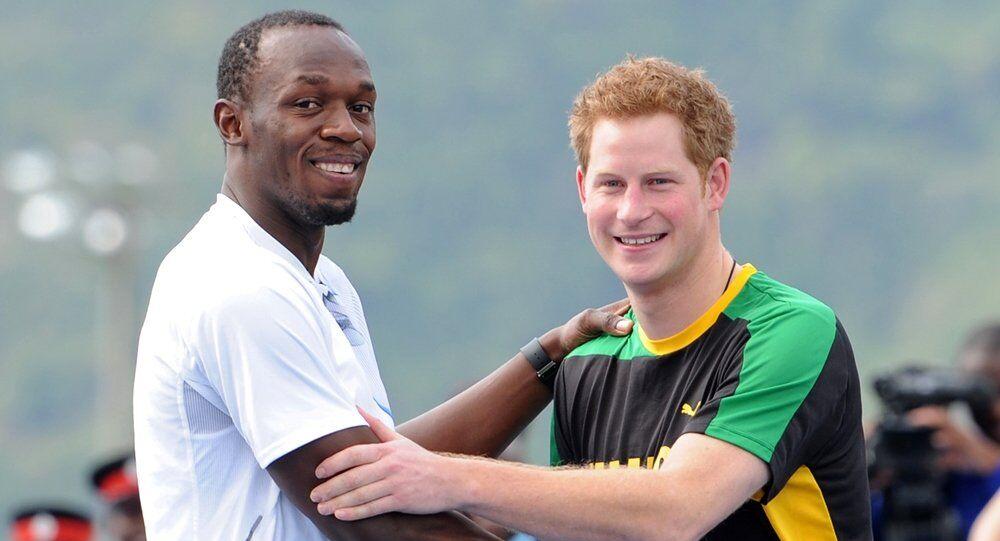 Usain Bolt - Prens Harry