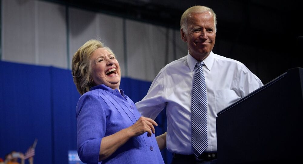 Hillary Clinton - Joe Biden