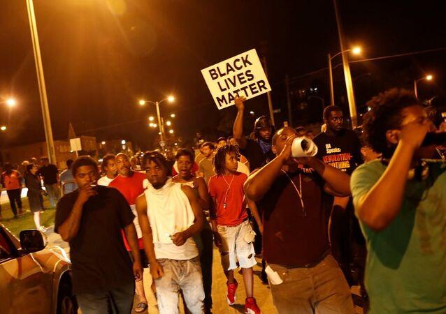 ABD polis şiddeti protesto