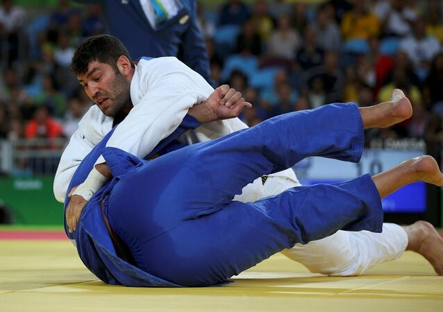 Mısırlı judocu İslam el Şehabi ve İsrailli rakibi Or Sasson