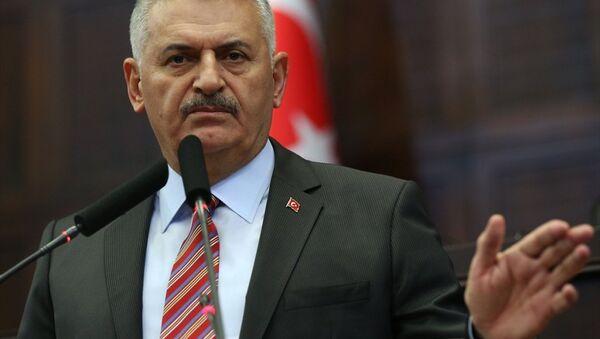 AK Parti Genel Başkanı ve Başbakan Binali Yıldırım - Sputnik Türkiye