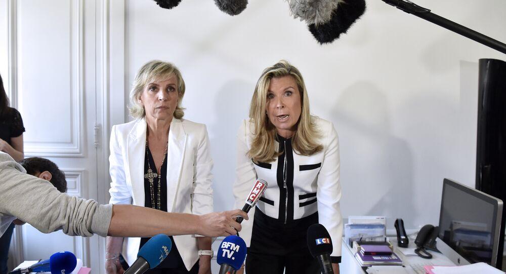 Jacqueline Sauvage'ın avukatları Nathalie Tomasini ve Janine Bonaggiunta