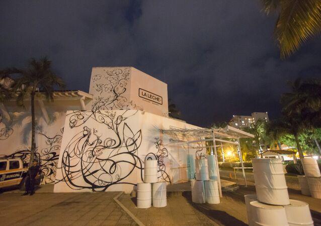 Bücür'ün oğlu Jesus Alfredo Guzman'ın kaçırıldığı restoran