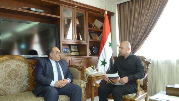 Suriye Tarım Bakanı Ahmet el Kadiri, Sputnik'e konuştu - Sputnik Türkiye