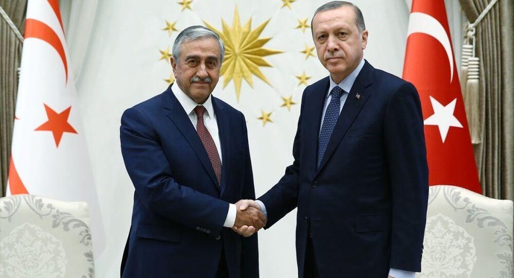 Mustafa Akıncı - Tayyip Erdoğan