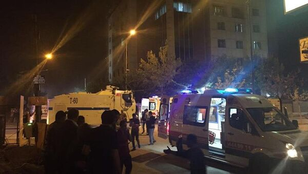 Van saldırı - Sputnik Türkiye