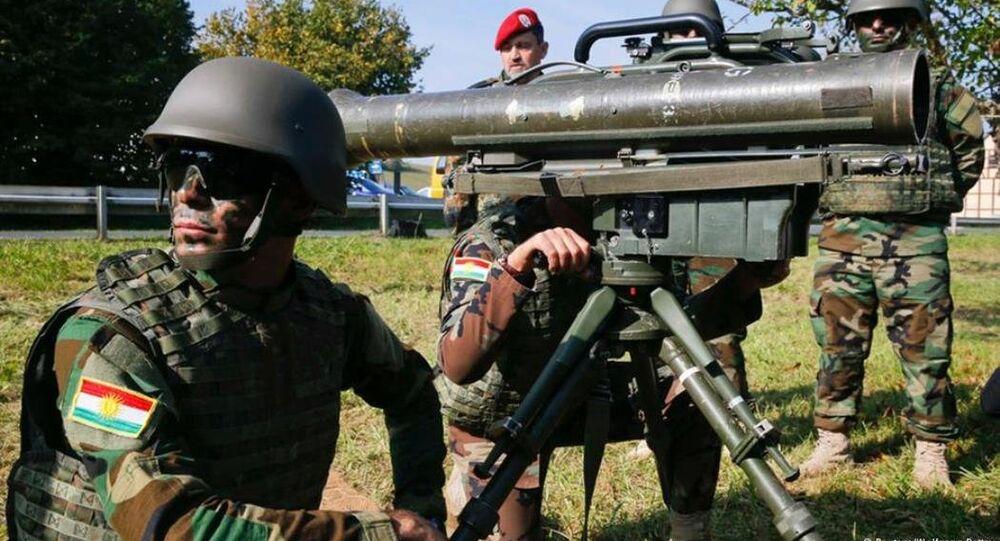 Almanya'dan Peşmerge'ye silah sevkiyatı