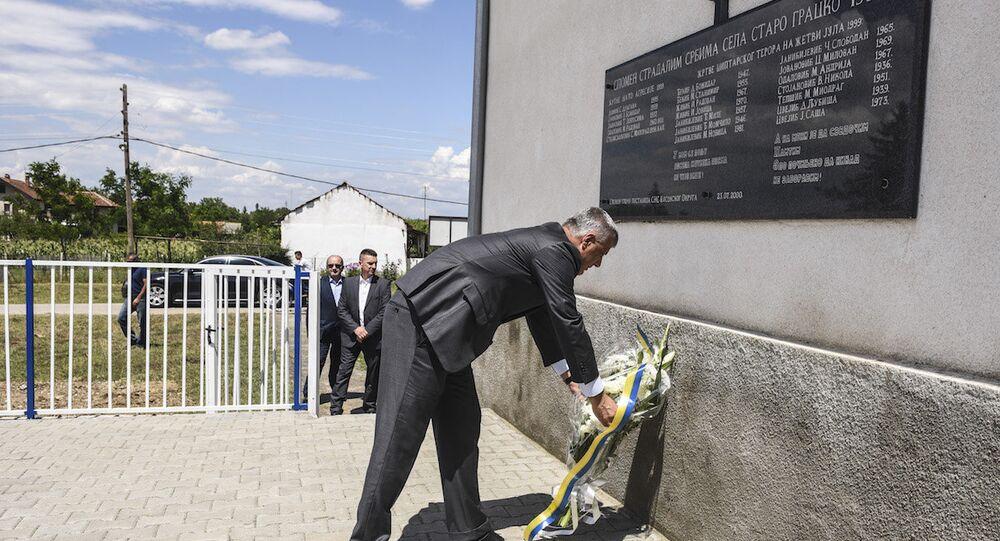 Kosova Cumhurbaşkanı ve Kosova Kurtuluş Ordusu'nun kurucularından Hashim Thaçi