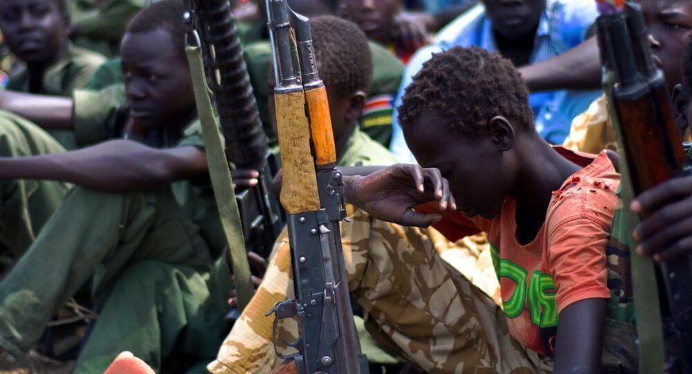 Güney Sudan çocuk asker