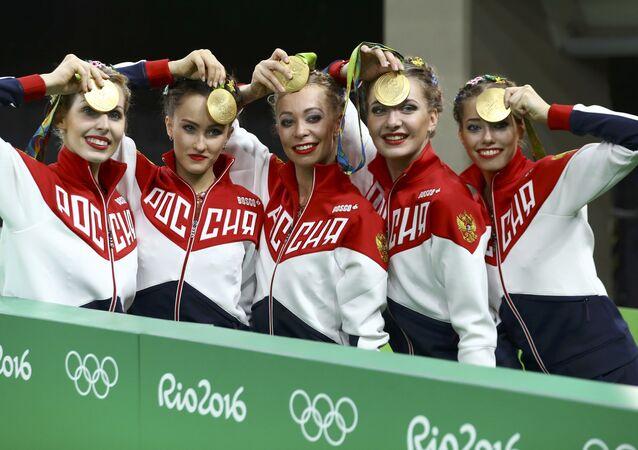 Rusya ritmik jimnastik olimpiyat takımı / Rio Olimpiyat Oyunları
