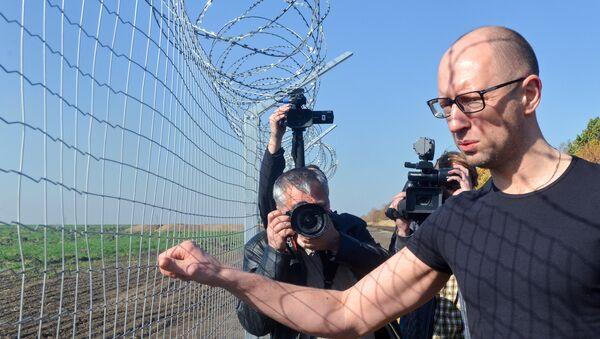 Eski Ukrayna Başbakanı Arseniy Yatsenyuk - Sputnik Türkiye