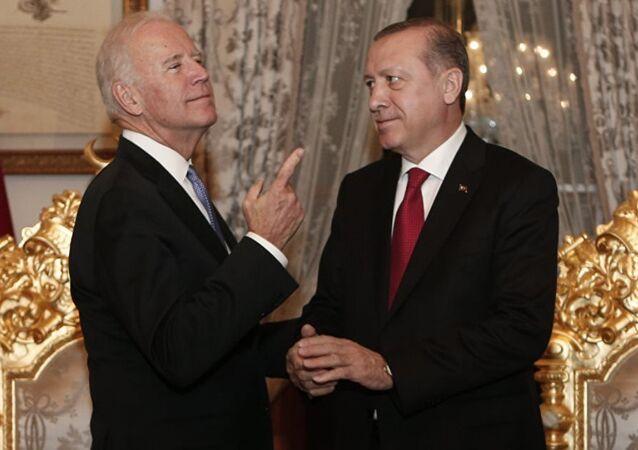 Joe Biden - Tayyip Erdoğan
