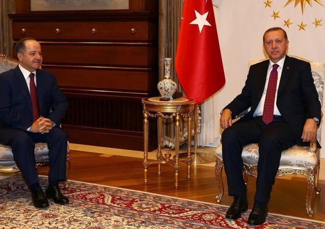 Mesud Barzani - Recep Tayyip Erdoğan