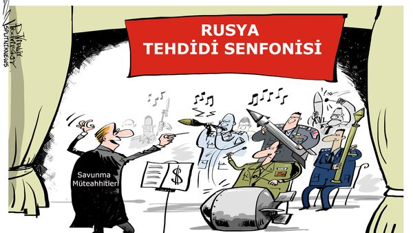 ABD'de, Moskova düşman olarak gösterilerek NATO ülkelerinin askeri harcamaları artırılmaya çalışılıyor - Sputnik Türkiye