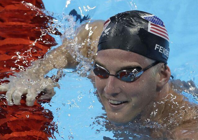 ABD'li yüzücü James Feigen