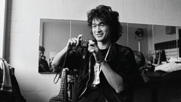 Viktor Tsoy, Leningrad (St. Petersburg) 1986 - Sputnik Türkiye
