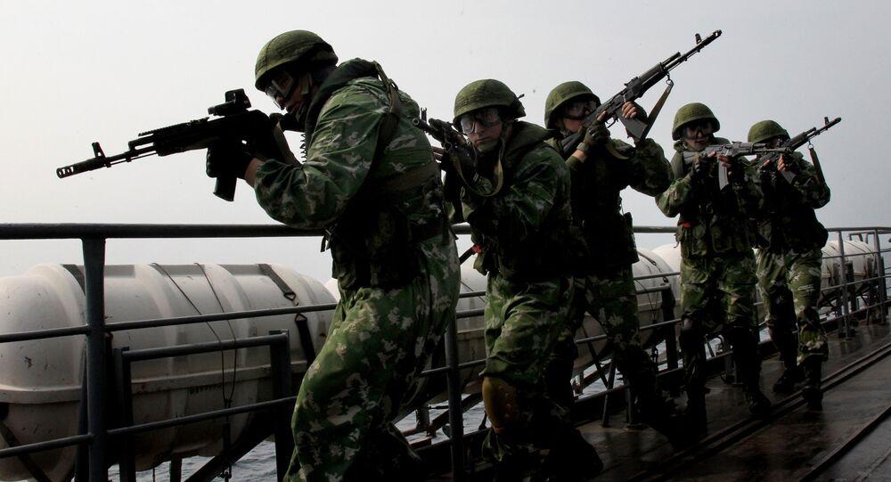 Rus askeri / tatbikat