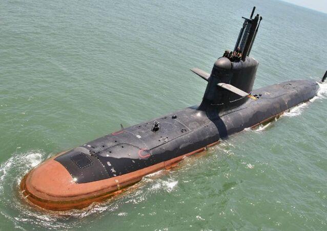 Scorpene denizaltı modeli