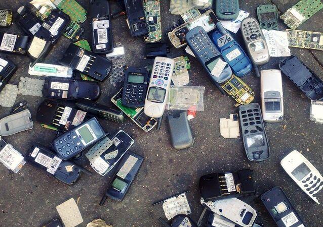 Japonya'da atık teknolojik ürünler