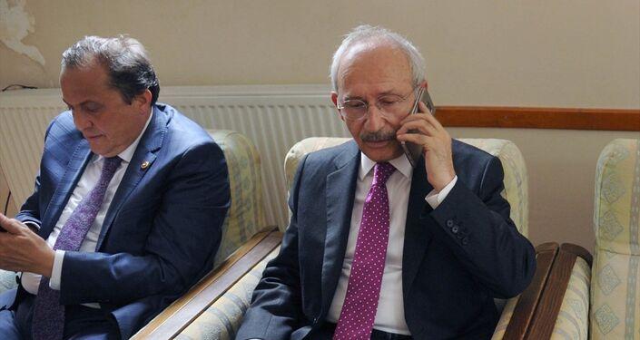 Kılıçdaroğlu, saldırının ardından Cumhurbaşkanı Recep Tayyip Erdoğan ve hükümet yetkilileriyle görüştü.