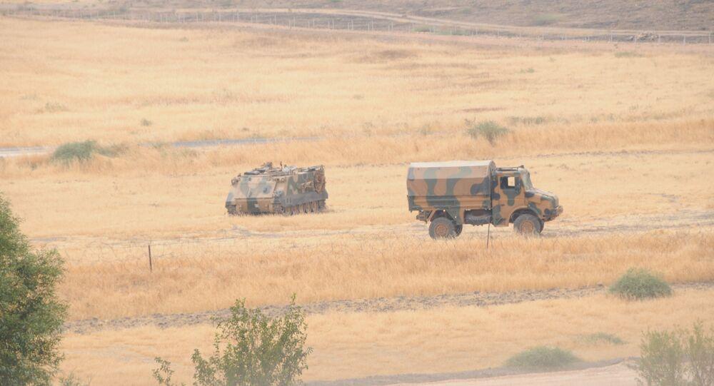 Türk askeri Cerablus'ta