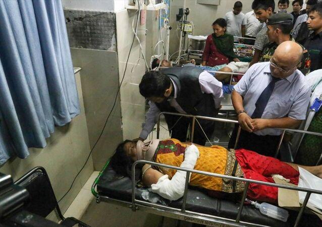 Nepal, otobüs kazası