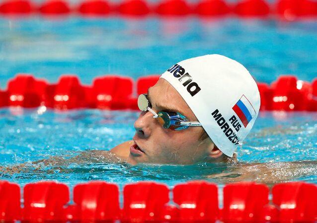 Rus yüzücü Vladimir Morozov