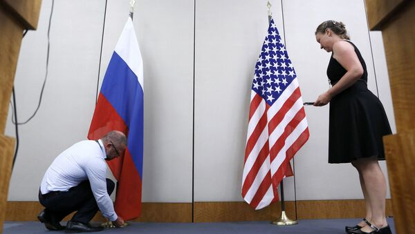 ABD-Rusya-bayrak - Sputnik Türkiye