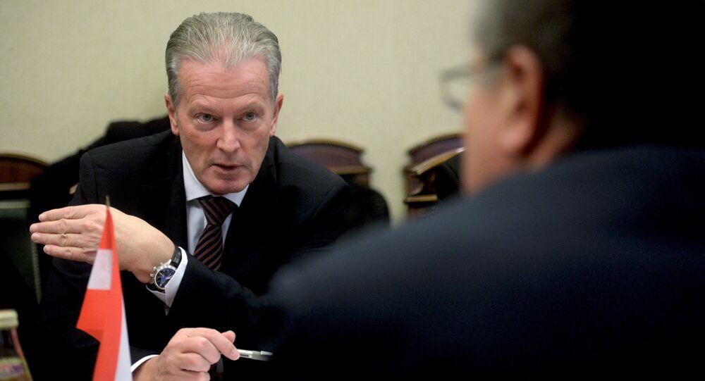 Avusturya Başbakan Yardımcısı ve Ekonomi Bakanı Reinhold Mitterlehner