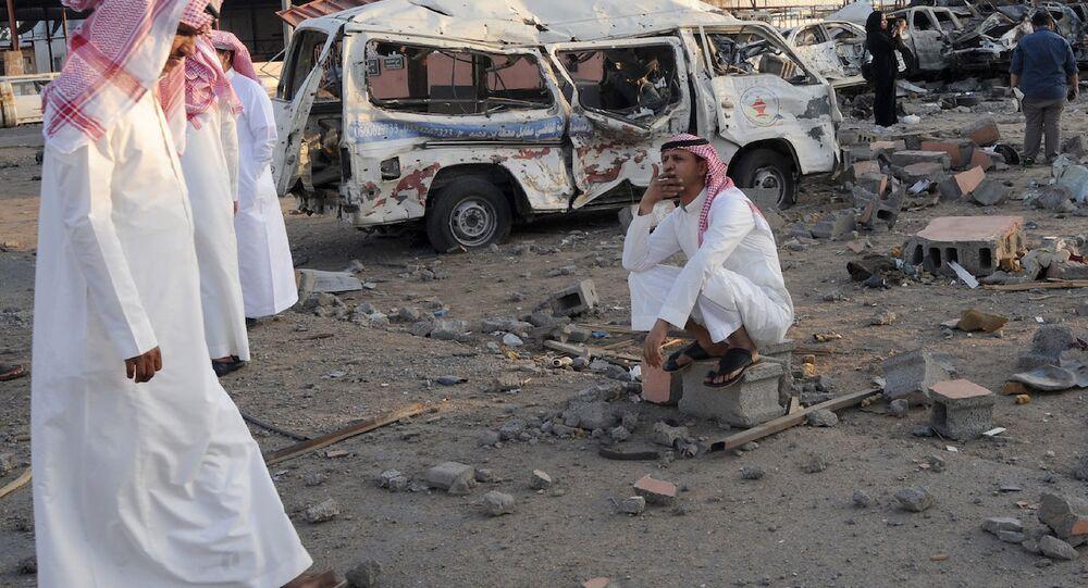 Suudi Arabistan'ın Yemen sınırındaki Necran kenti