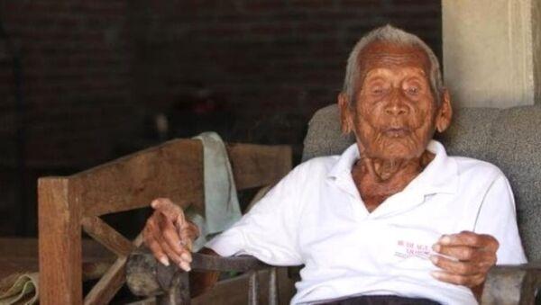 Dünyanın en yaşlı adamı, Gotho - Sputnik Türkiye