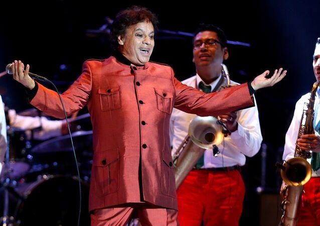 Meksikalı şarkıcı Juan Gabriel
