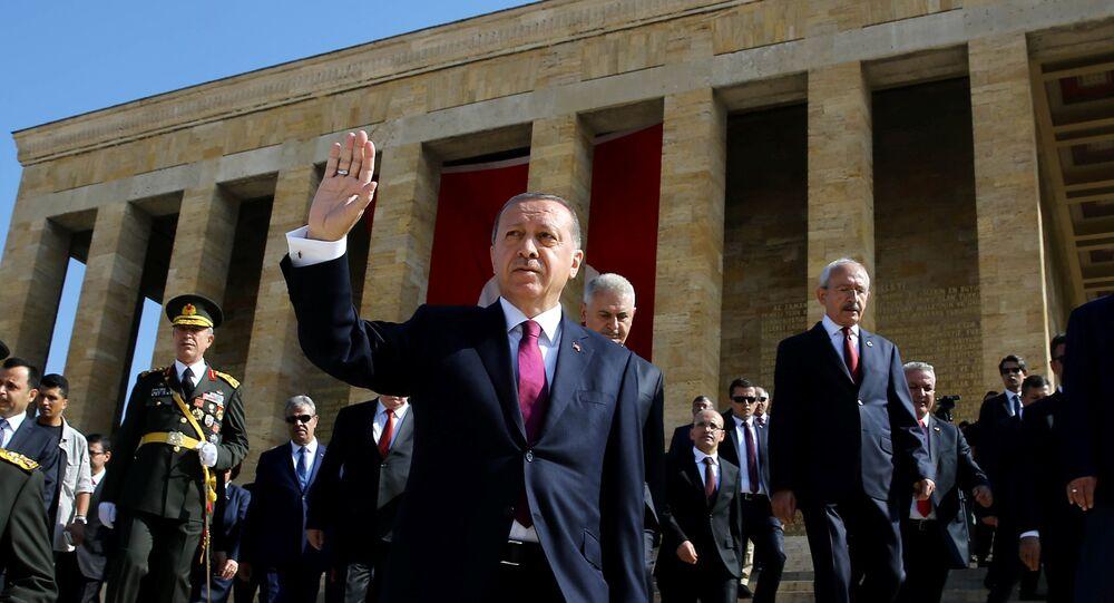 Recep Tayyip Erdoğan Anıtkabir'de / 30 Ağustos