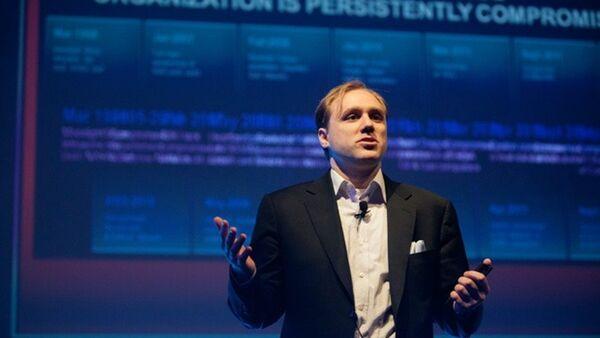 ABD merkezli siber güvenlik şirketi CrowdStrike'ın yöneticisi Dmitri Alperovitç - Sputnik Türkiye