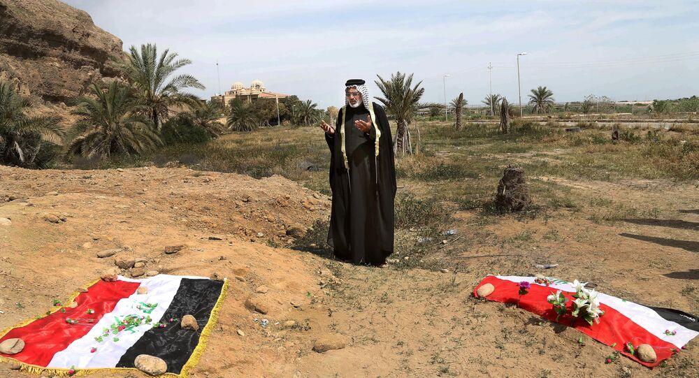 Irak'ta toplu mezar