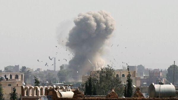 Yemen'de saldırı (Arşiv) - Sputnik Türkiye