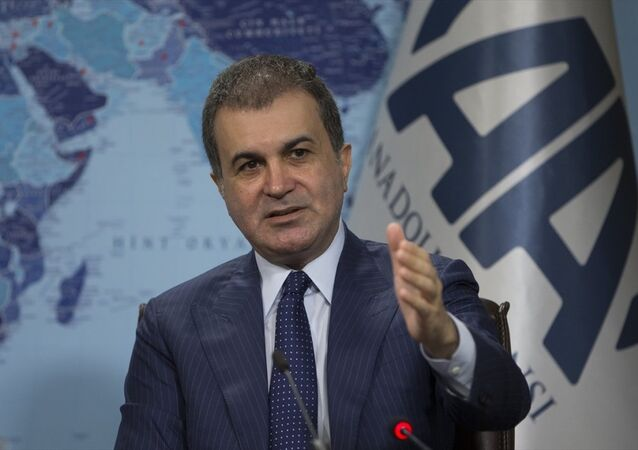Avrupa Birliği (AB) Bakanı ve Başmüzakereci Ömer Çelik