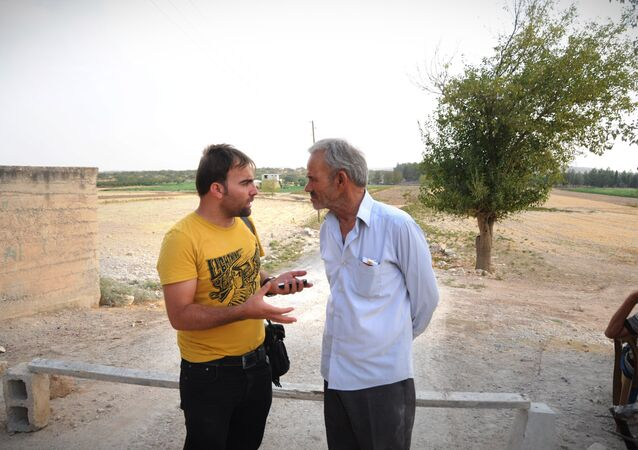 Keklice köyü muhtarı Mehmet Küçükarslan