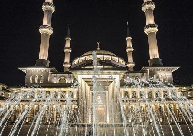 Cumhurbaşkanlığı Külliyesi'ndeki Beştepe Millet Camii