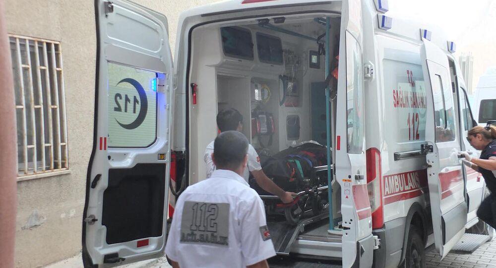 Askeri üs bölgesine malzeme götüren TIR'a saldırı: 1 ölü, 1 yaralı