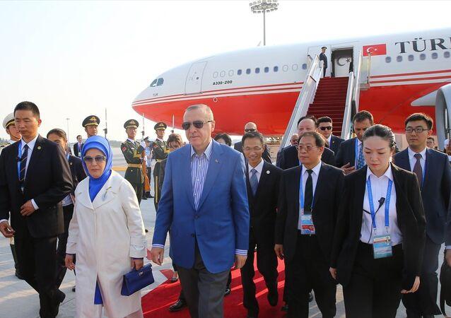 Cumhurbaşkanı Erdoğan G20 zirvesi için Çin'e geldi