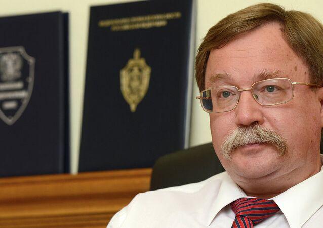 Rusya Dışişleri Bakanlığı Yeni Tehditler Departmanı Başkanı İlya Rogaçev