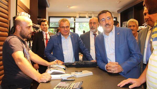 Gümrük ve Ticaret Bakanı Bülent Tüfenkci Batman'da. - Sputnik Türkiye