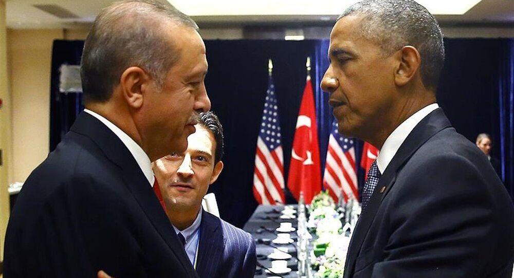 Cumhurbaşkanı Erdoğan ile ABD Başkanı Obama