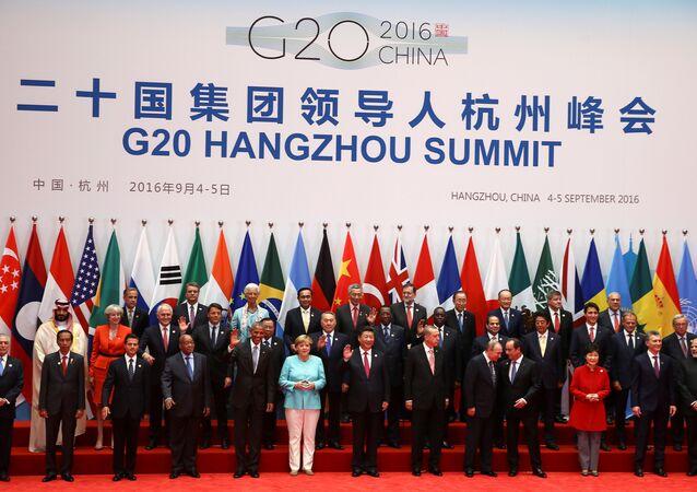Çin'deki G20 Liderler Zirvesi