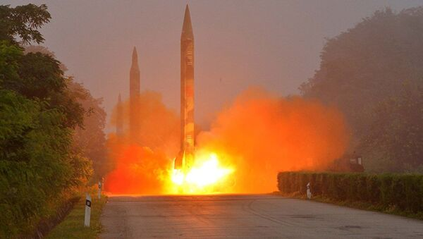 Kuzey Kore füze denemesi - Sputnik Türkiye