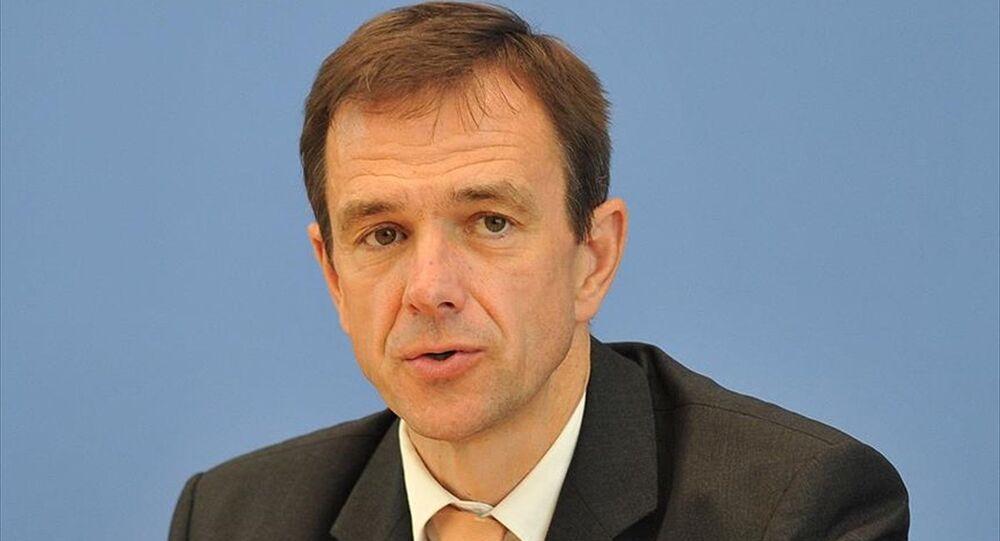Almanya Dışişleri Bakanlığı sözcüsü Martin Schaefer