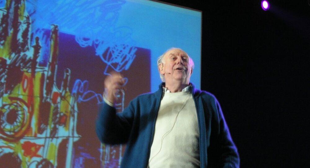 Nobel Edebiyat ödüllü İtalyan oyun yazarı Dario Fo