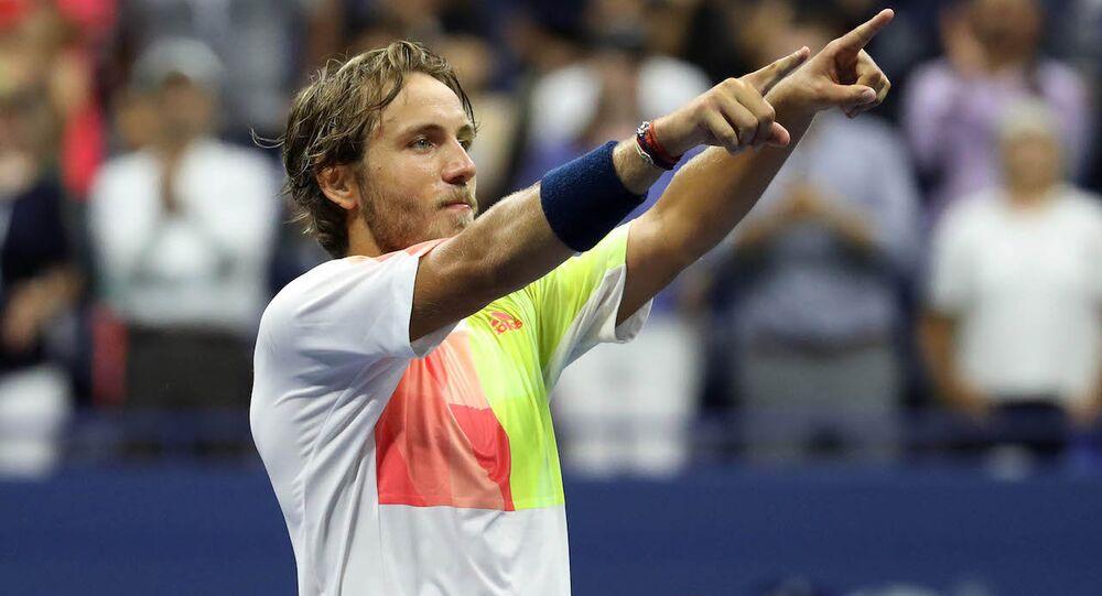 Fransız tenisçi Lucas Pouille