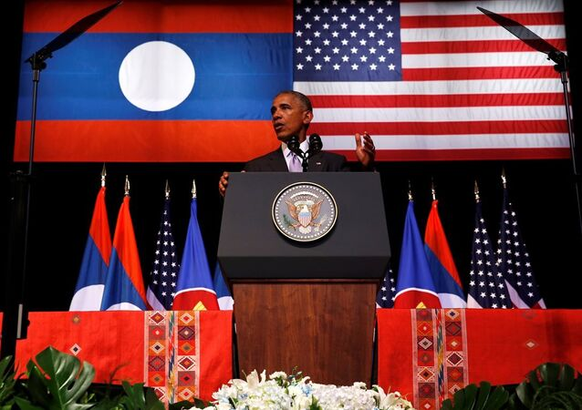 Obama Laos'ta